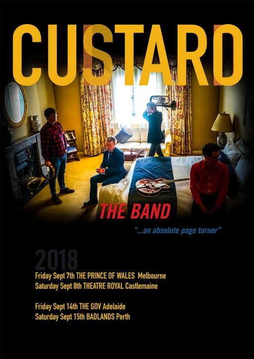 Custard Tour Poster