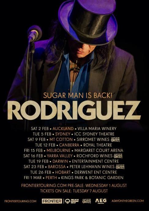 Rodriguez Australian Tour Poster