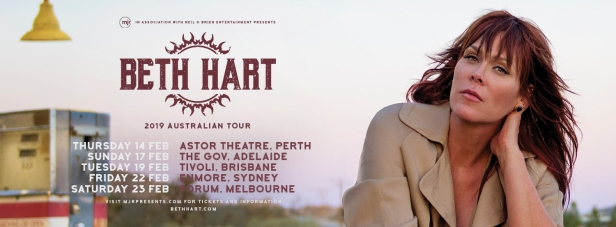 Beth Hart Tour Banner