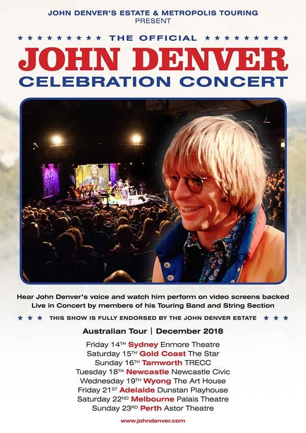 JOhn Denver Celebration Concert Tour Poster