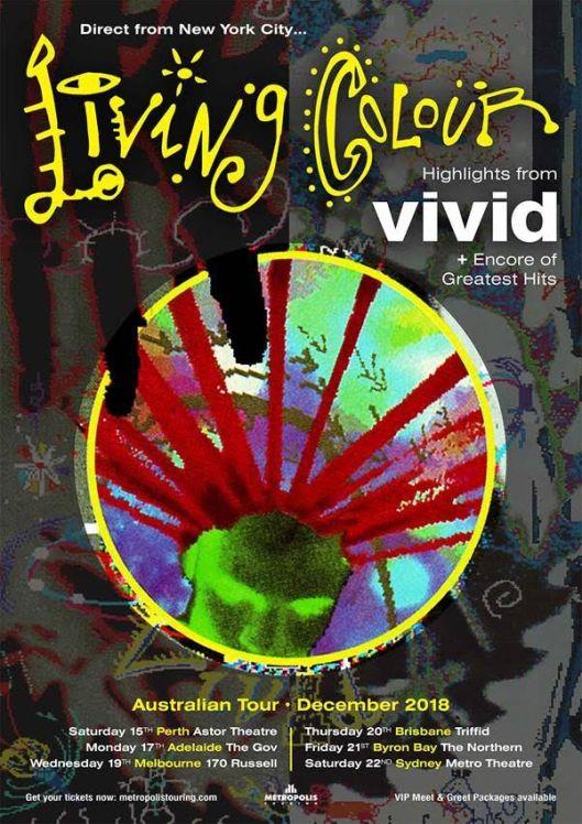Living Colour Tour Poster