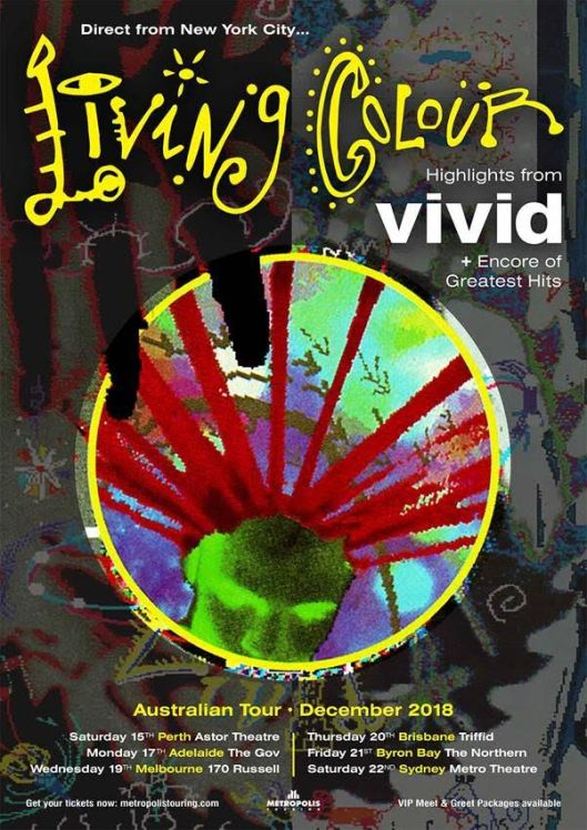 Living Colour Tour Poster