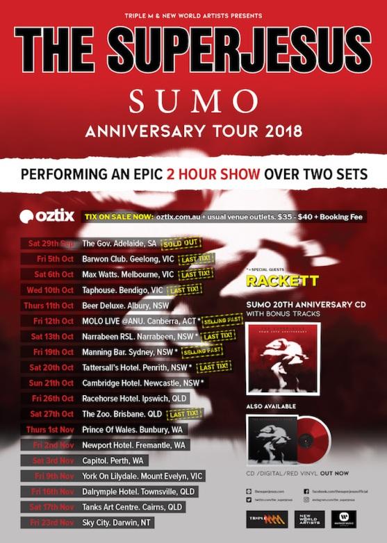 Superjesus Tour Poster - Updated