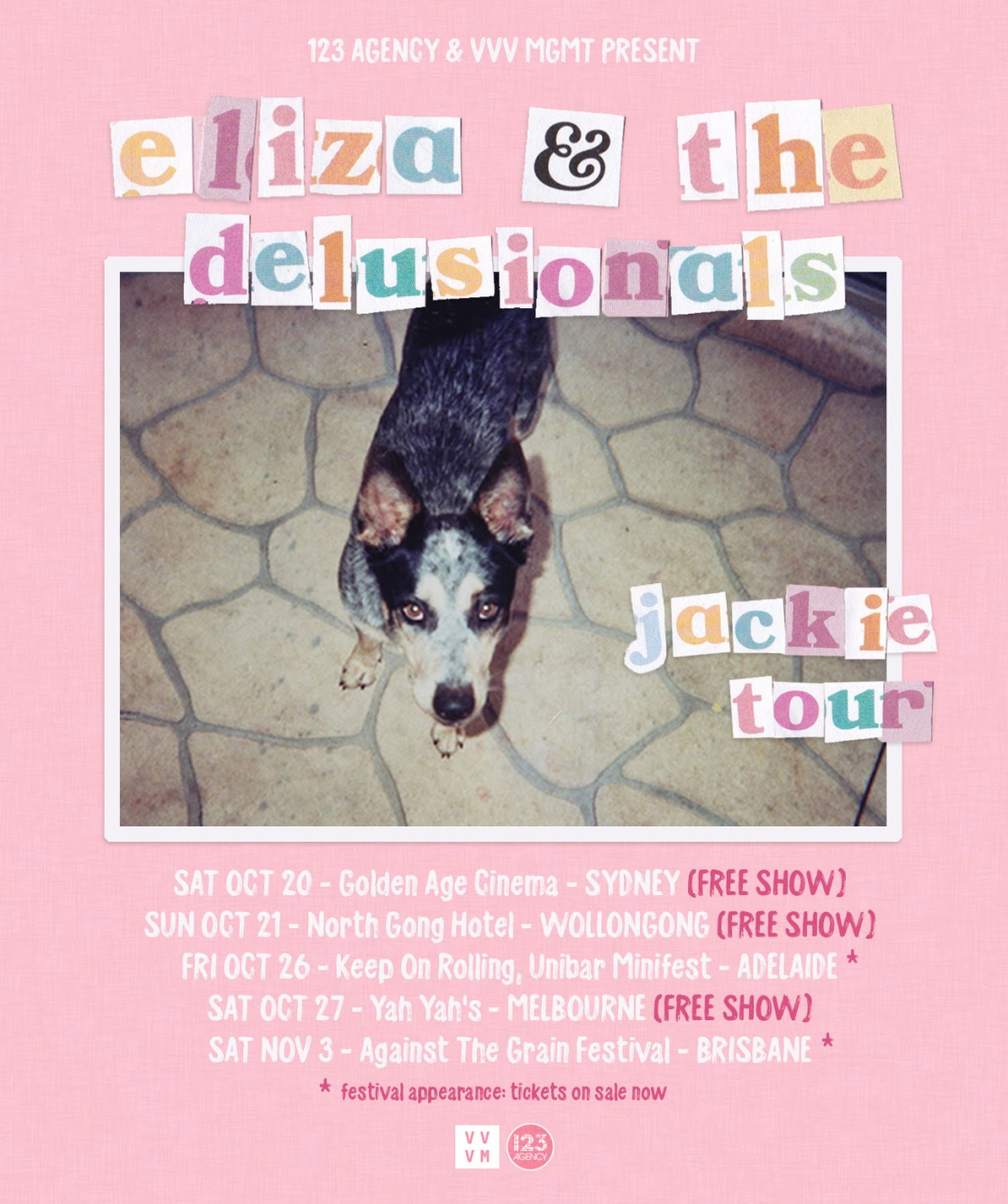 Eliza & The Delusionals Tour Poster.jpg