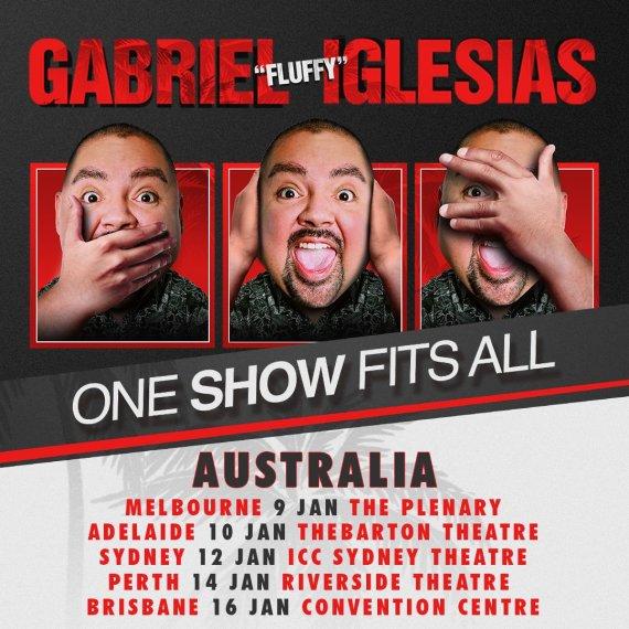 "Gabriel ""Fluffy"" Iglesias ""One Show Fits All"" Tour"