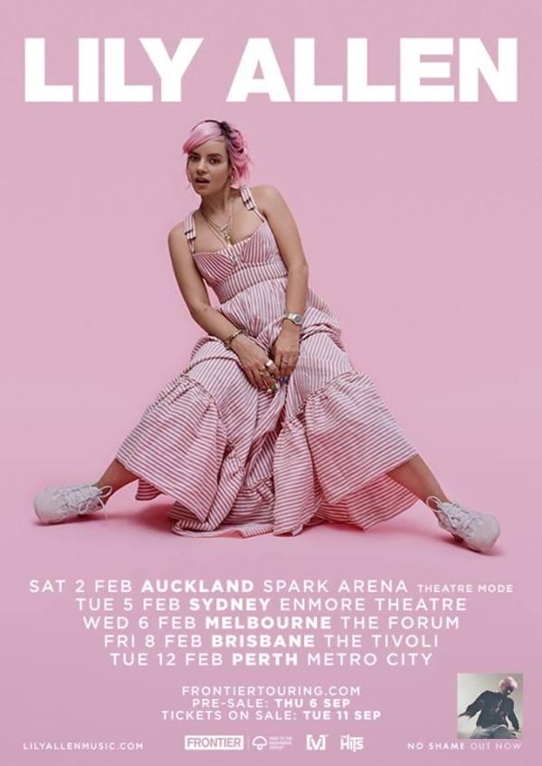 Lily Allen Tour Poster