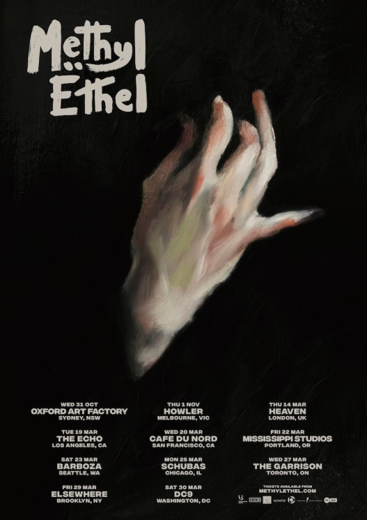 Methyl Ethel Tour Poster