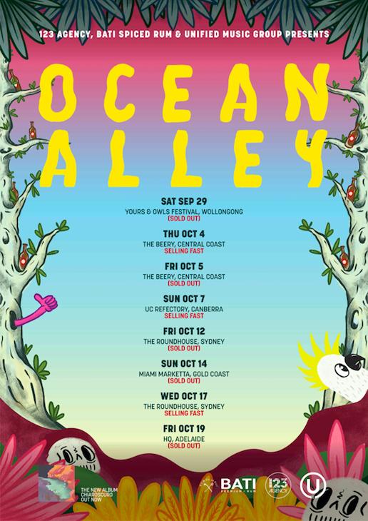 Ocean Alley Australian Tour Poster.png