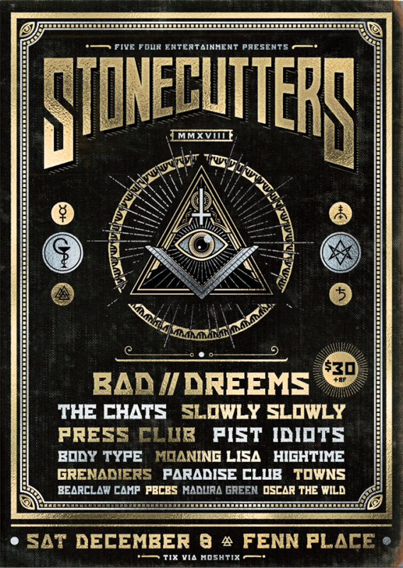 Stonecutters Poster