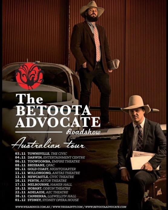 The Betoota Advocate Roadshow Poster