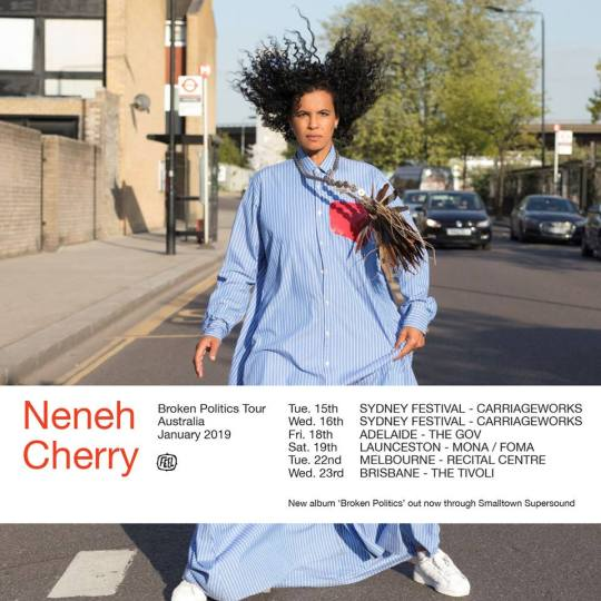 Neneh Cherry Australian Tour Poster