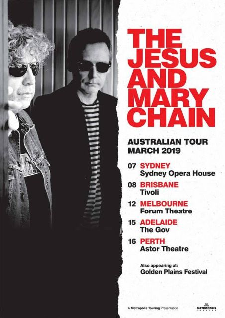 The Jesus & Mary Chain Tour Poster