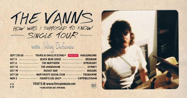 The Vanns Tour Banner