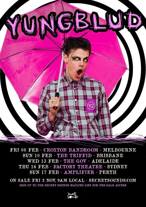Yungblud Tour Poster