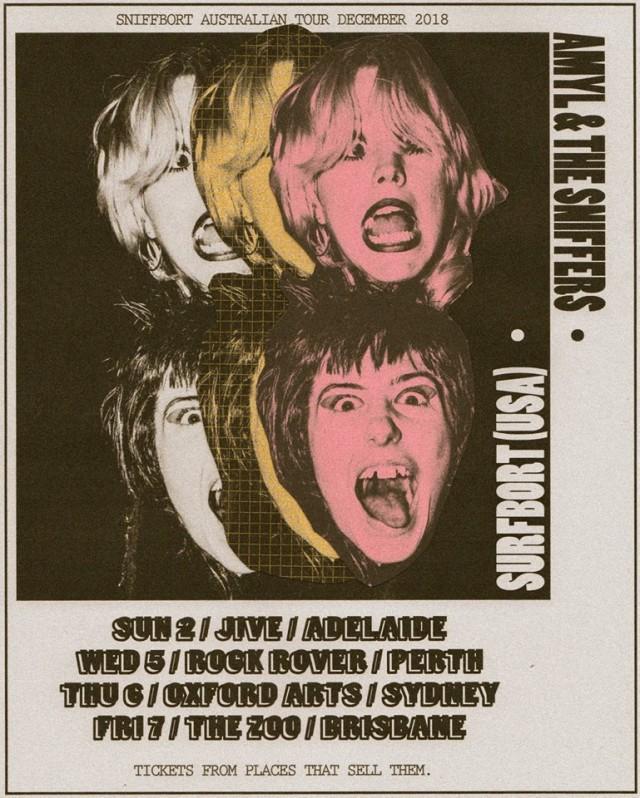 Amyl & The Sniffers - December Tour
