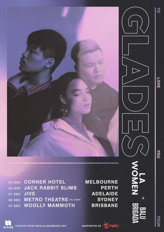 Glades Tour Poster