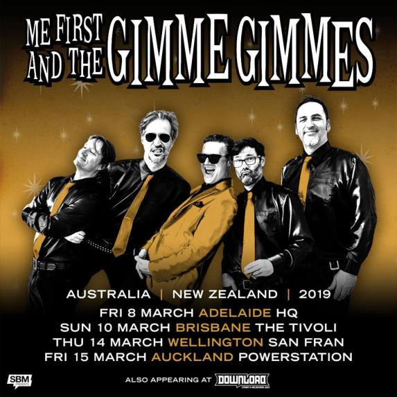 Me First And The Gimme Gimmes Tour Poster