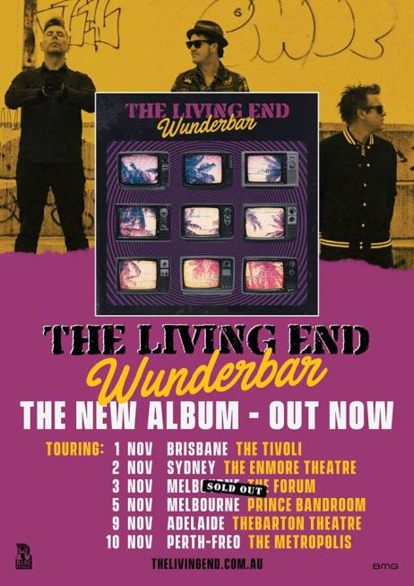 The Living End Tour Poster