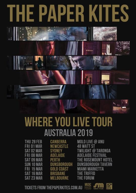 The Paper Kites Australian Tour