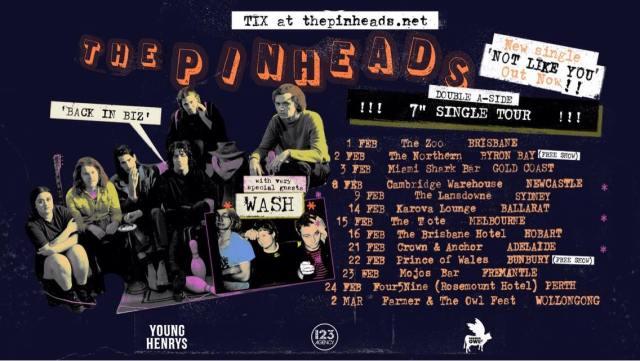The Pinheads Tour Banner