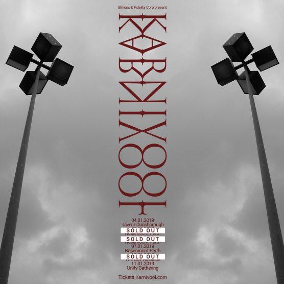 Karnivool Tour Poster
