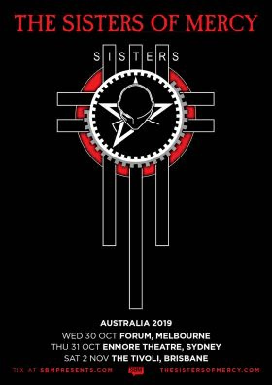 the sisters of mercy tour poster
