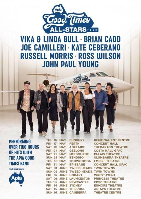 APIA Allstars Tour Poster
