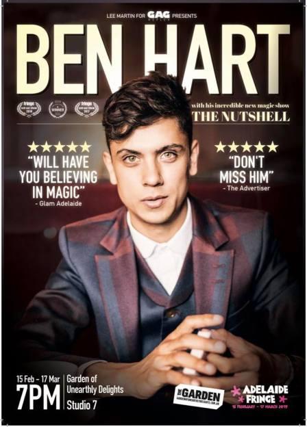 Ben Hart - Adelaide Fringe Poster.jpg