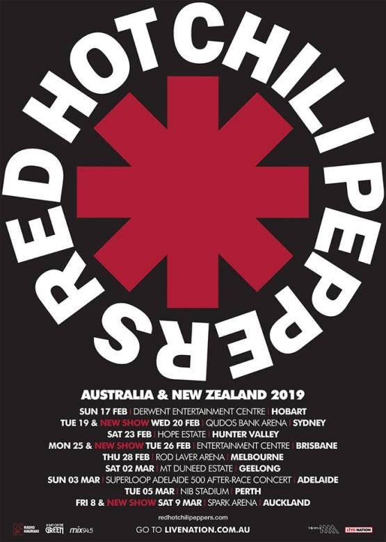 RHCP - Tour Poster 1