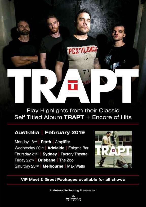 Trapt Tour Poster 2019