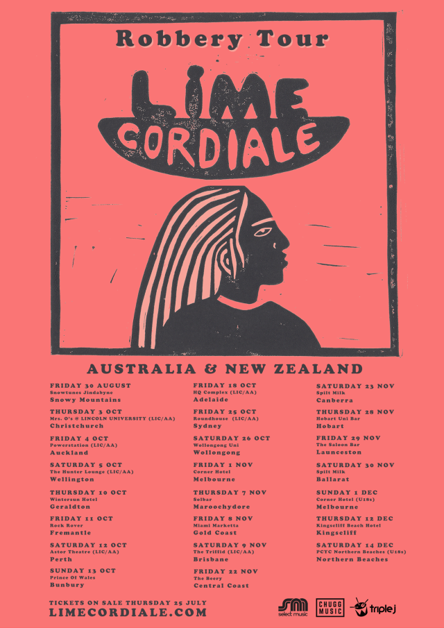 Lime Cordiale Tour Poster